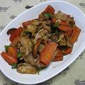 豚肉とニンジンの中華風味噌炒め