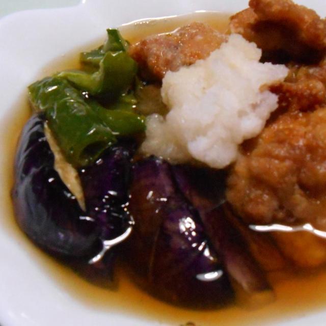 ジュワッとおつゆで 鶏肉と野菜のみぞれ煮風