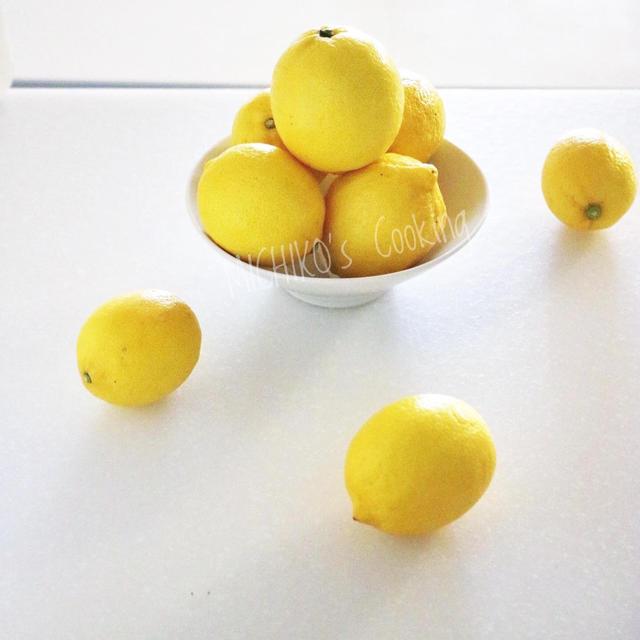 レモン酒始めました