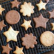 サクサク!型抜きクッキー生地と、今日のレシピ