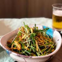 【レシピ】調味料は醤油だけ!ビールが進んじゃうネギとジャガイモのサラダ