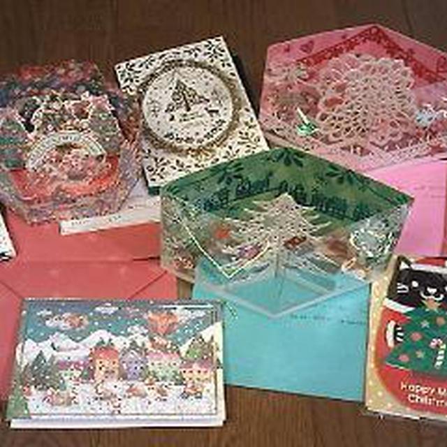 クリスマスカードの準備★&アップルケーキ