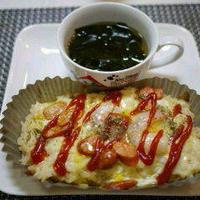 楽チンカップでオムチーズ&「今日のイチオシ!レシピ」掲載!