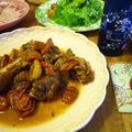 鶏のバルサミコ煮