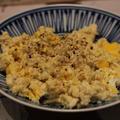 【recipe】煎り玉子豆腐