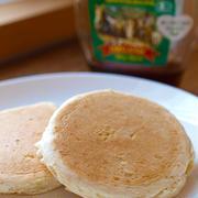 発芽玄米粉のパンケーキ