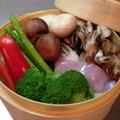 鶏肉と野菜の蒸篭蒸し