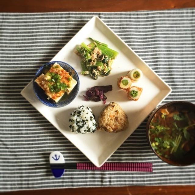 常備菜で簡単ワンプレートlunch