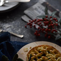 プルーンが美味しいApple pie