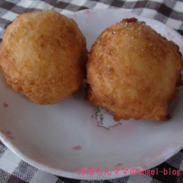 ☆今日のおやつ~豆腐ドーナツ☆
