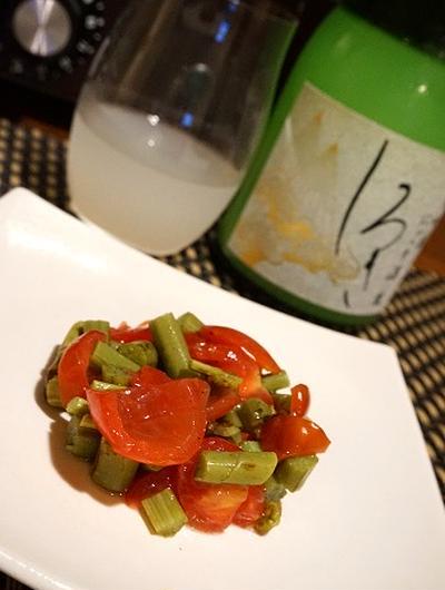 蕨のミニトマトのタルタル、サザエのウイスキー煮などバル料理レシピ