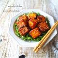 ♡豆腐がご馳走♡黄金比率deヤンニョム豆腐♡【簡単*時短*節約】