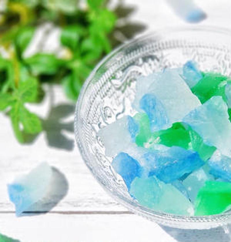 夏休みの自由研究にも!キラキラ&涼やかな「琥珀糖」を作ってみよう!