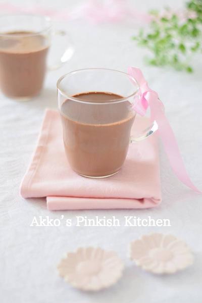 ショコラ・ショー(Chocolat chaud)基本のレシピ 欧米の常識ホットドリンク♪