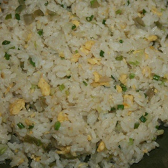 9月14日  トリプル葱と ザーサイの炒飯