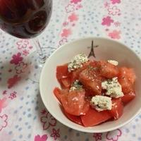 トマトとチーズのおつまみ