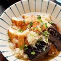 お魚厚揚げとなすのおろし煮【#簡単 #時短 #節約 #胃腸にやさしい #主菜】