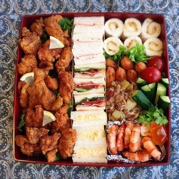 盛りだくさん!ピクニック弁当☆きれいに詰めるコツ