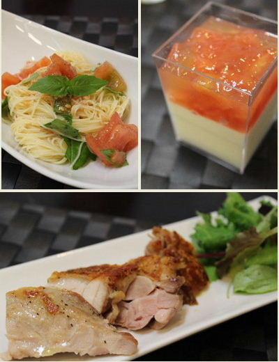 MayucafeCookingSchool「桃太郎トマトを使ったスイーツ&お料理レッスン」開催しました。