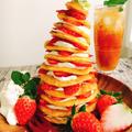 クラウドブレッドとチーズクリームのツリータワー by Misuzuさん