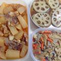 作り置き 常備菜 中華風 大根と豚肉の煮物