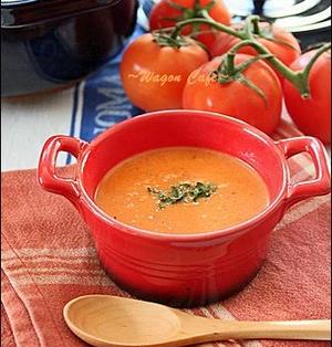 クリーミー**濃厚トマトスープ
