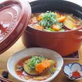 和風出汁を使ってトマトカレー鍋