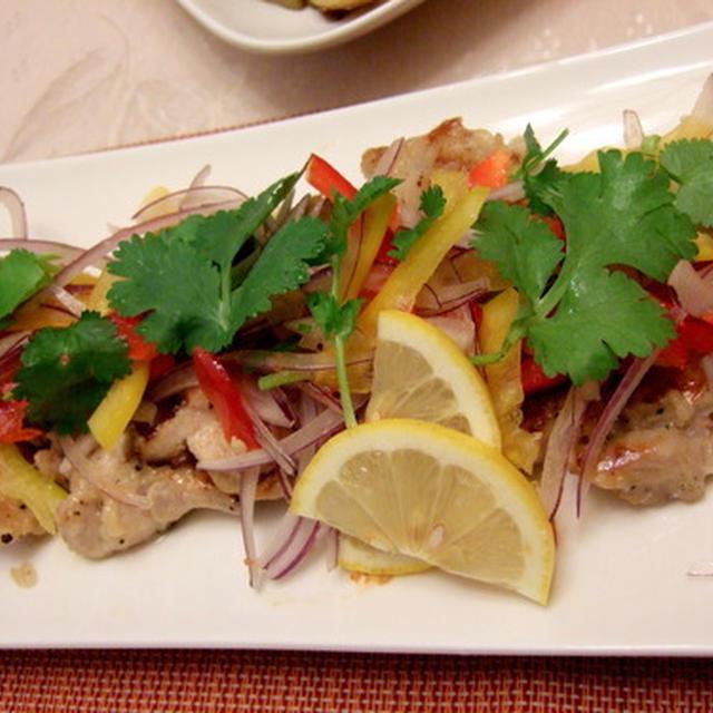 ホットワインで、ぱ~と明るい食卓に 塩麹とペッパーの鶏もも肉