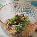 【レシピ】オリーブオイルかけてみた81きゅうりとツナのゆかりオリーブ和え