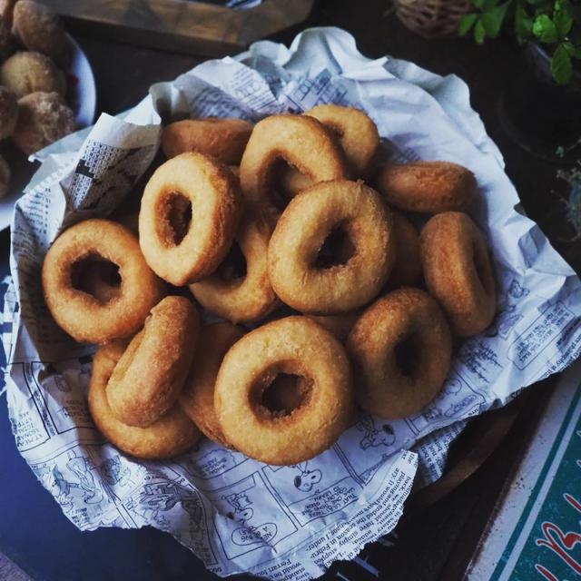 さっくりふんわり懐かしい味のドーナツ