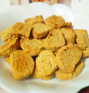 ヘルシーで簡単♪大豆水煮ときなこのクッキー