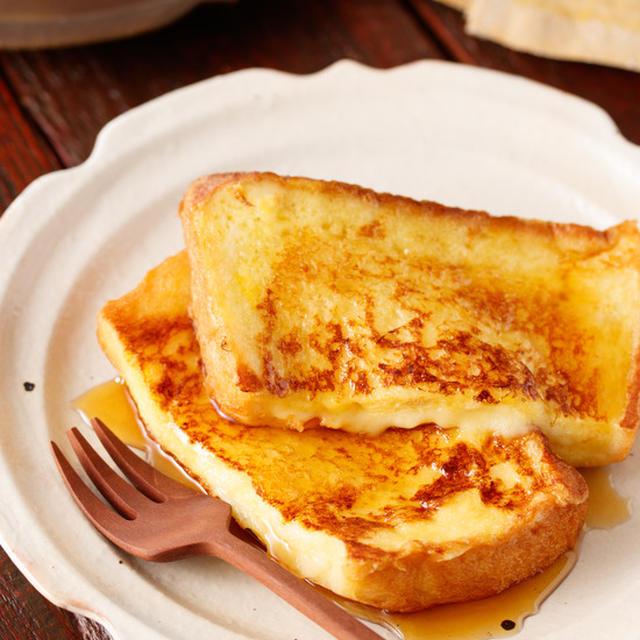 チーズフレンチトースト【#簡単 #時短 #節約 #酪農家さんを応援 #今こそ作ろう #お子様と作れる #軽食 #ランチ #朝ごはん #スイーツ】