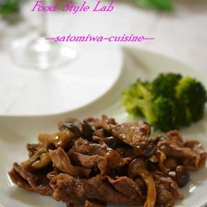 牛肉とキノコの赤ワイン煮