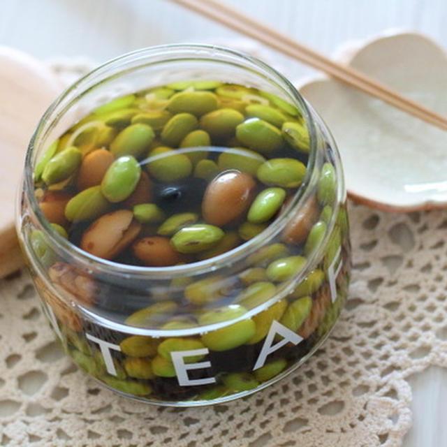 蒸した豆で作る絶品【浸し豆】 ~タンパク質もしっかりとろう!