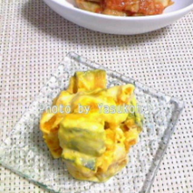 美肌レシピ☆ノンオイルでヘルシー♪かぼちゃのヨーグルトサラダ☆豆腐とんバーグ☆