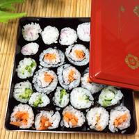 ラーメンのお供に☆野菜の細巻き寿司