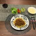 マルチチョッパーで合挽き肉のラグーソース