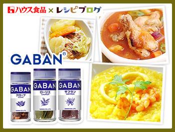 GABANスパイスでつくるあったか煮込み料理&スープレシピ