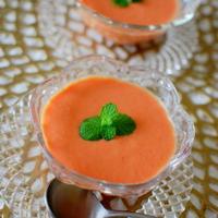 簡単すぎ?冷製トマトカレースープ~ひんやりとスパイス香って夏バテ防止に~