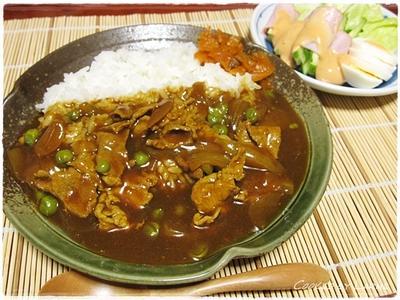 昭和にタイムスリップ!醤油味の和風カレー