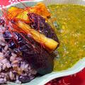 モロヘイヤと夏野菜の薬膳カレー