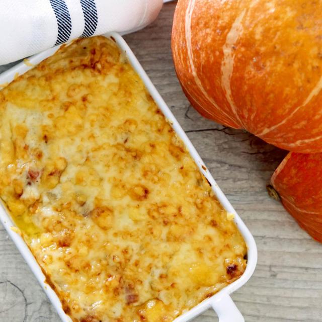 かぼちゃのグラタンのレシピ