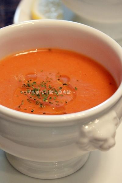 熱々でも冷え冷えでも美味しい、クミン香る長いも入り赤レンズ豆のスープ。
