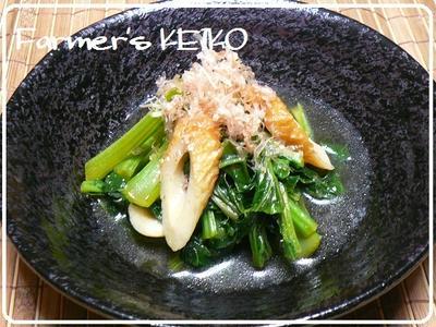 つくれぽ100人ありがとう! 『白菜とツナのとろとろ煮&小松菜とちくわお煮浸し』