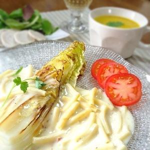 驚くほどの甘さ!「焼き白菜」が主役のレシピ6選
