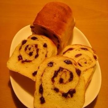 シナモンレーズン食パン♪