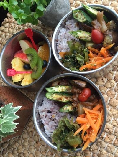煮込まず簡単夏野菜カレー
