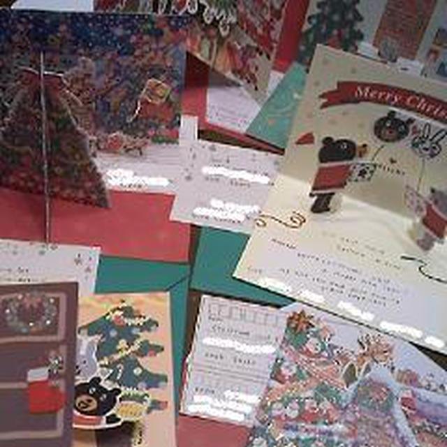 クリスマスカード・プレゼントの準備★&ゆずのパウンドケーキ