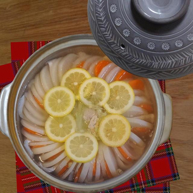 鰤と大根のミルフィーユ鍋