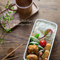 鶏キムチ丸め焼き弁当。